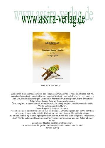 Muhammad - Ein Leben für den Glauben an den einzigen Gott www.assira-verlag.de