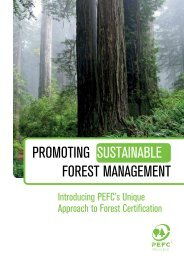 Promoting Sustainable Forest Management