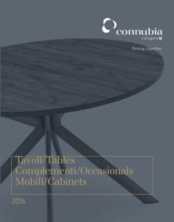 142 Calligaris CONNUBIA Tavoli