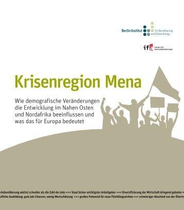 Krisenregion Mena