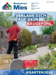 Gartenbeilage 2016 (#Garten2016)