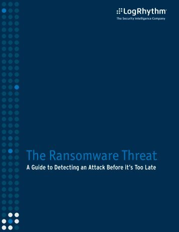 The Ransomware Threat