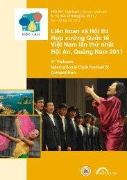Hội An 2011 - Program Book
