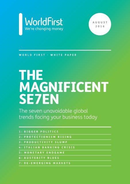 THE MAGNIFICENT SE7EN