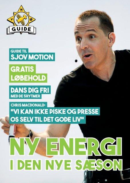 FreeCard Guide No3 - Ny Energi I Den Nye Sæson