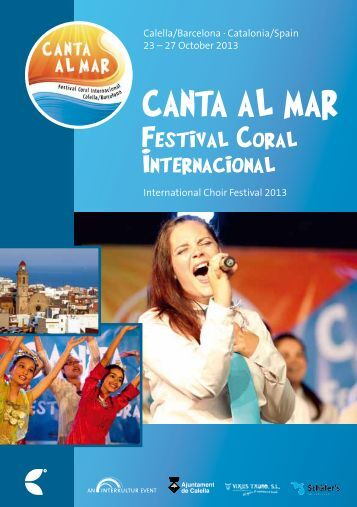 Calella 2013 - Program Book
