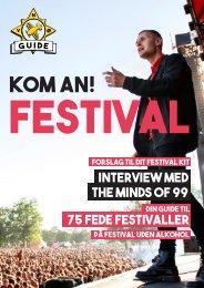 FreeCard Guide No1 - Kom An Festival