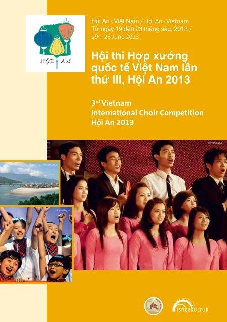 Hội An 2013 - Program Book