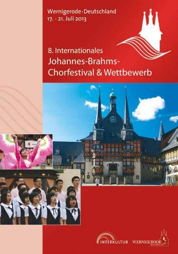 Wernigerode 2013 - Program Book