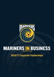2016/17 Corporate Partnerships