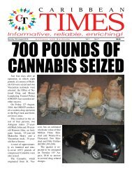 Caribbean Times 71st Issue - Monday 15th August 2016