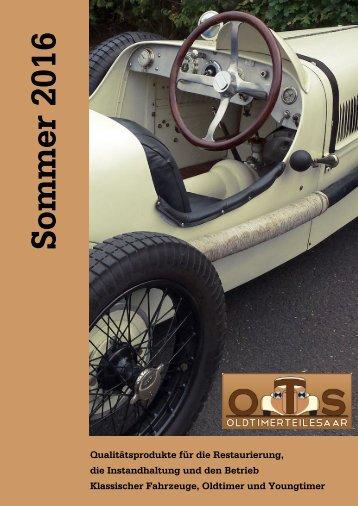 O.T.S. Gesamtkatalog Sommer 2016
