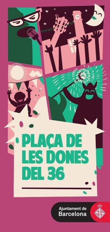 PLACA DE LES DONES DEL 36