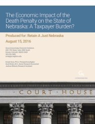Executive-Summary-The-Economic-Impact-of-the-Death-Penalty-on-the-State-of-Nebraska