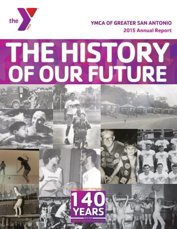 2015 Annual Report: The History of Our Future