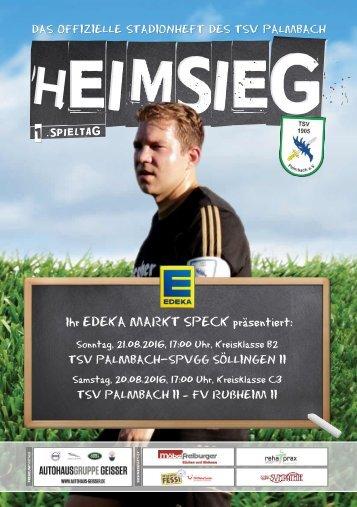TSV Palmbach Heft-1