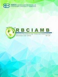EDIÇÃO 37 - Setembro/15 - RBCIAMB