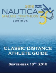 NMT Classic Distance Athlete Guide