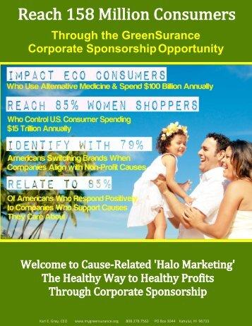 GreenSurance Sponsorship Presenation 2016