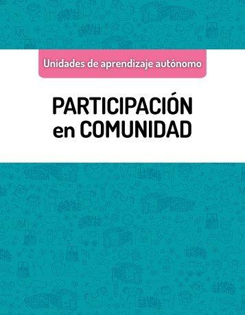 PARTICIPACIÓN en COMUNIDAD