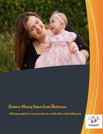 Celebrate Your New Baby! - CHILD - Children Having Infant Limb ...