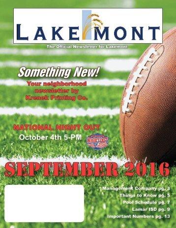 Lakemont September 2016