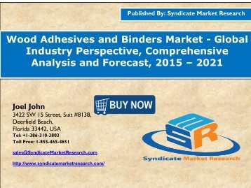 Wood Adhesives and Binders Market