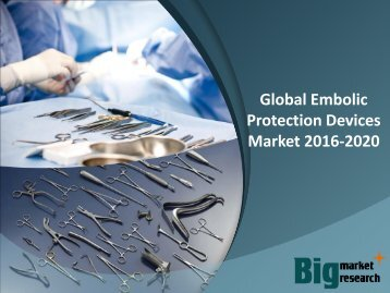 Global Embolic Protection Devices Market 2016-2020