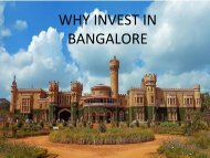Why invest in Bangalore