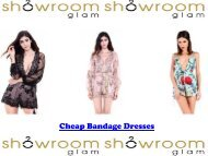 Cheap Bandage Dresses