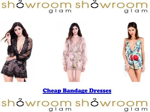 Cheap Bandage Dresses