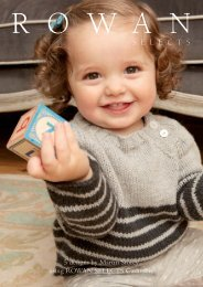 Rowan Selects Children Cashmere Collection