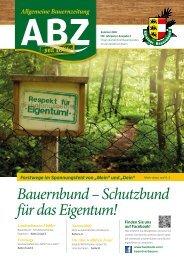 Allgemeine Bauernzeitung  - Ausgabe 02 - 2016 (Kärntner Bauernbund)