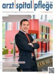 arzt|spital|pflege Ausgabe 3/2016