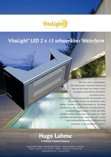 Waterfarm schwenkbar