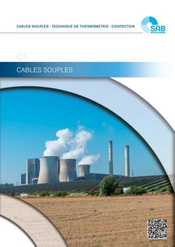 Câbles souples C1