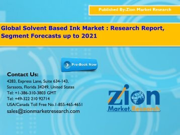 Solvent Based Ink Market
