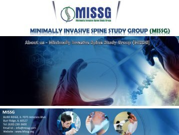 About Us - Minimally Invasive Spine Study Group (MISSG)