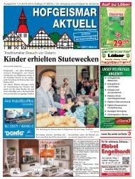 Hofgeismar Aktuell 2016 KW 13