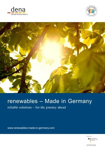 renewables-made in Germany