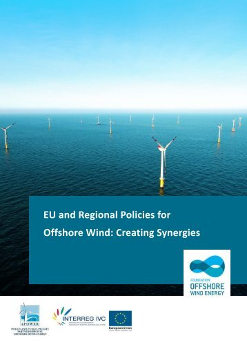 Regional Policies for Offshore Wind: A Guidebook