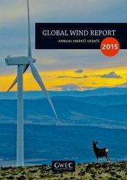 GWEC – Global Wind 2015 Report