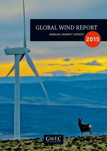 GWEC – Global Wind 2015 Report
