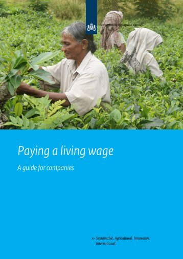 Paying a living wage