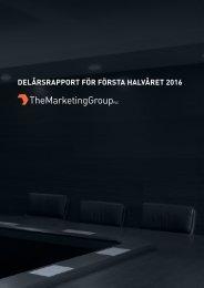 DELÅRSRAPPORT FÖR FÖRSTA HALVÅRET 2016