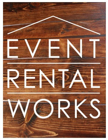 Event Rental Works Sales Sheet 2016