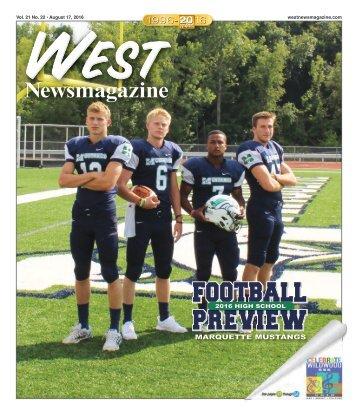 West Newsmagazine 8-17-16