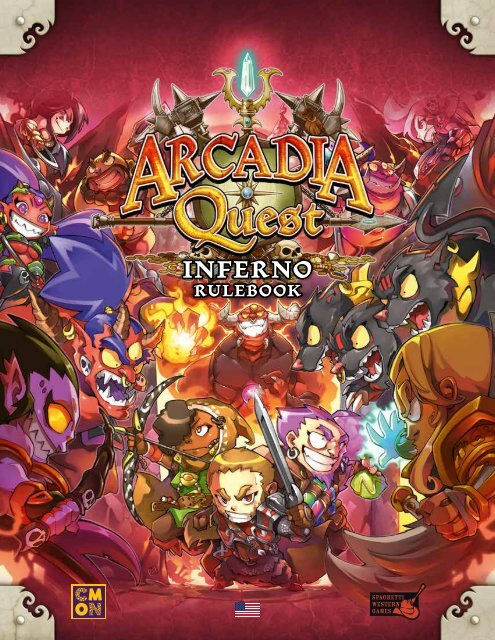 Arcadia Quest Inferno Death Skulls Tokens