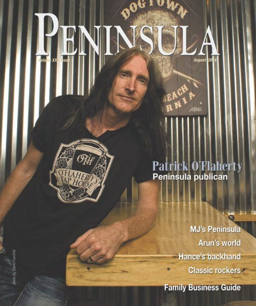 Peninsula People August 2016