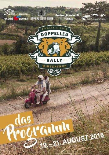 Programmheft Doppelleu Rally Winterthur 2016